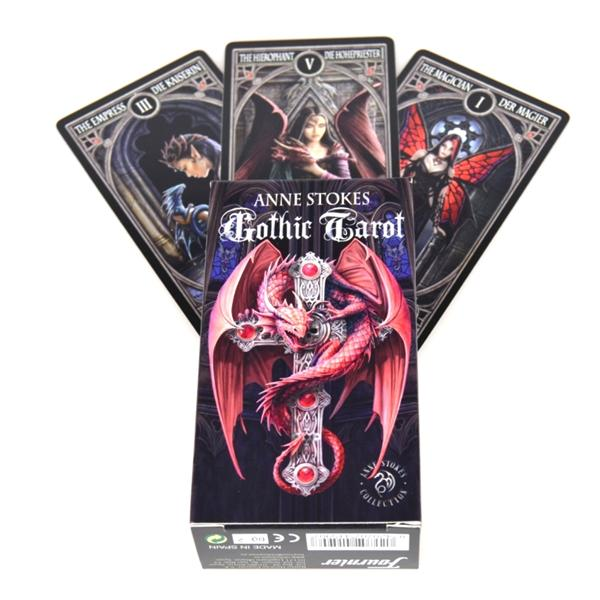 Карты ТАРО Anne Stokes Gothic Tarot